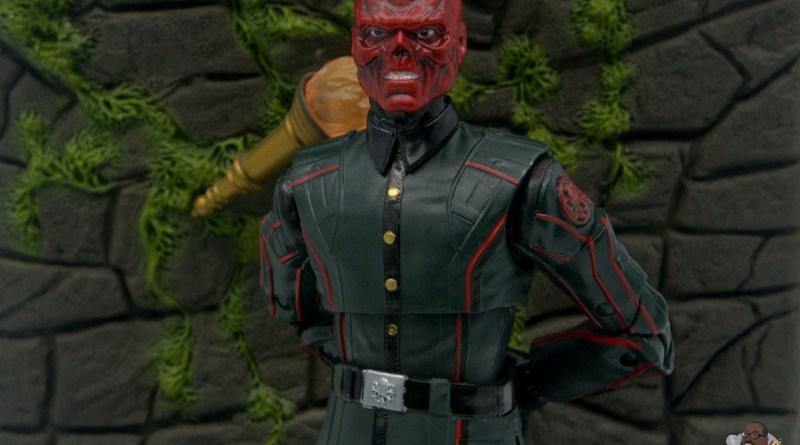 marvel legends marvel studios 10 years red skull figure review - main pic