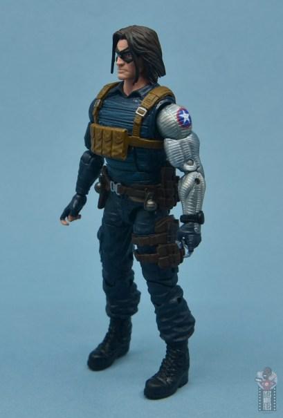 marvel legends the winter soldier figure review - left side