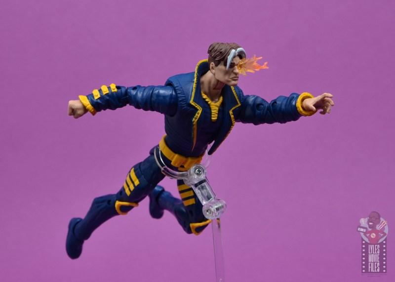 marvel legends x-man figure review - flying