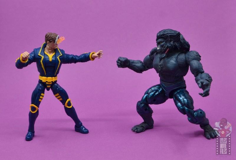 marvel legends x-man figure review - vs dark beast