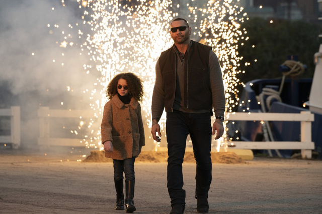 my spy review - chloe coleman and dave bautista