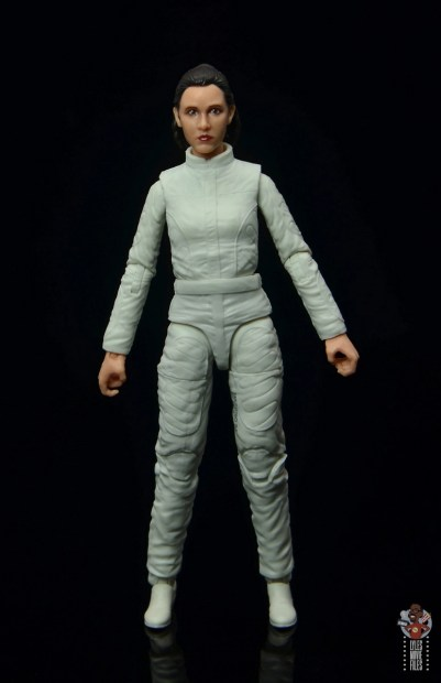 star wars the black series princess leia bespin escape figure review - front