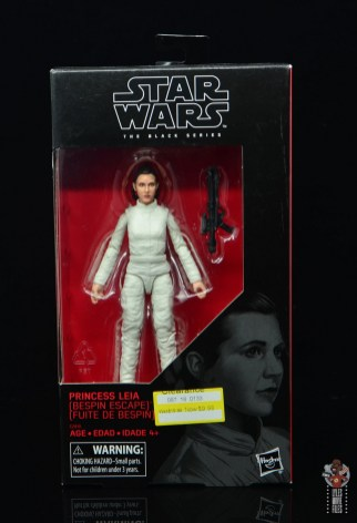 star wars the black series princess leia bespin escape figure review - package front