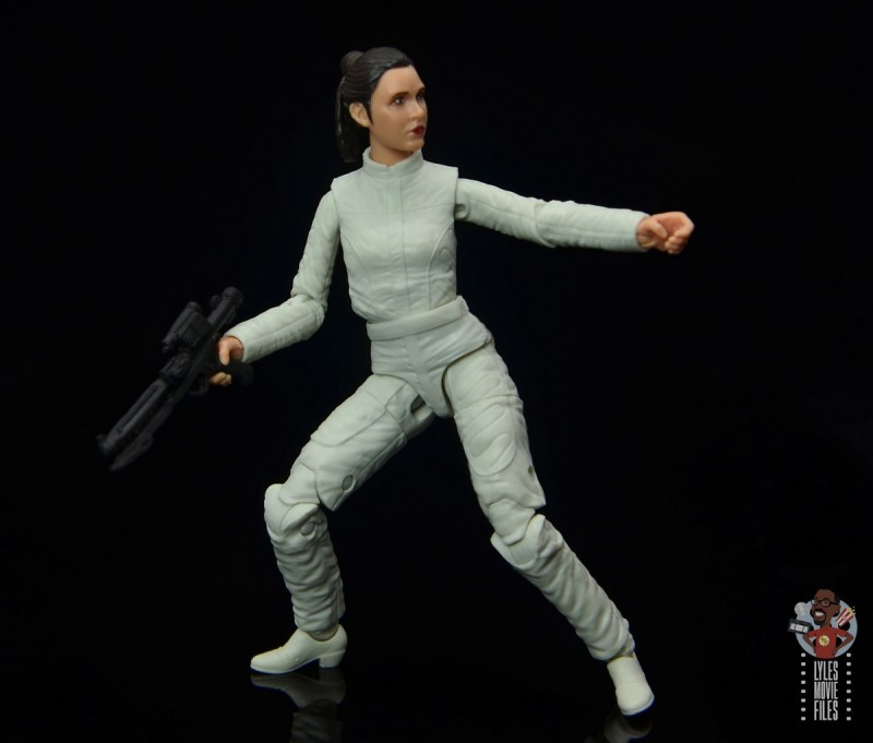 star wars the black series princess leia bespin escape figure review - pivoting