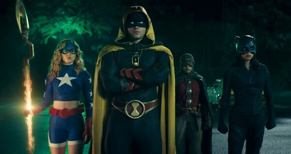 stargirl - the justice society review - stargirl, hourman, dr. mid-nite and wildcat