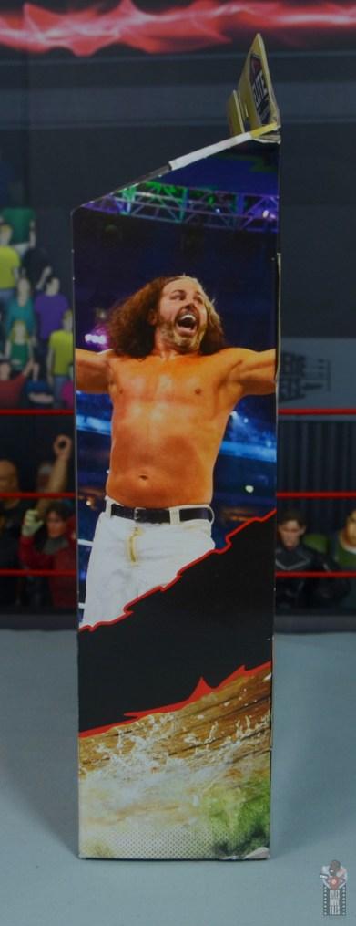 wwe elite wrestlemania woken matt hardy figure review - package right side