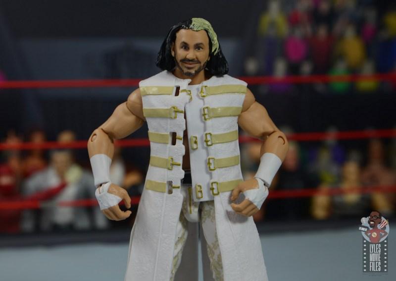 wwe elite wrestlemania woken matt hardy figure review -robe detail