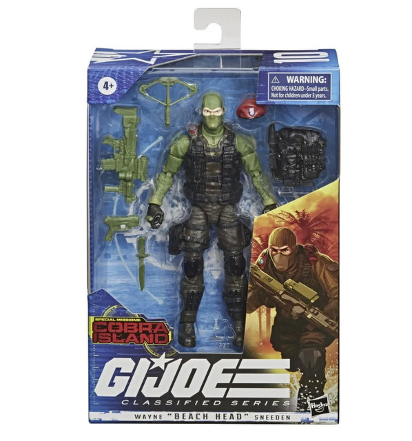 Hasbro G.I. Joe Classified Series Cobra Island Target Exclusives - beach head