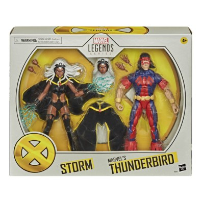 MARVEL LEGENDS SERIES X-MEN 6-INCH STORM AND MARVEL'S THUNDERBIRD Figure 2-Pack - in pck