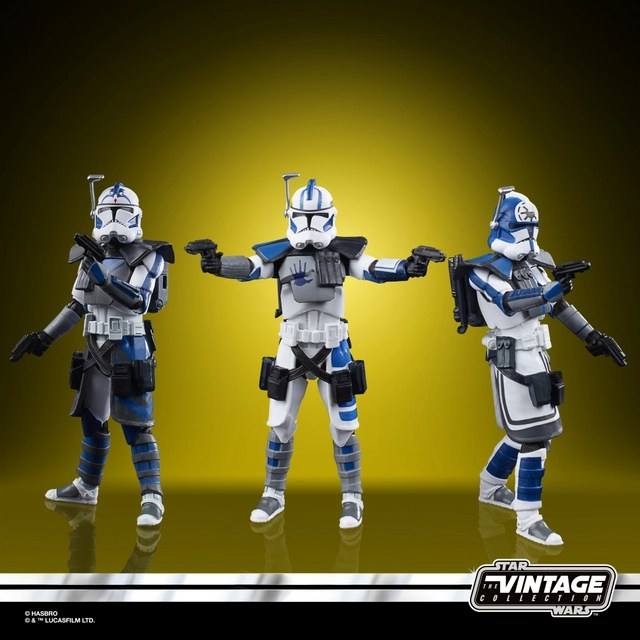 Star Wars The Vintage Collection Star Wars The Clone Wars 501st Legion ARC Troopers Figure 3-Pack - oop (2)