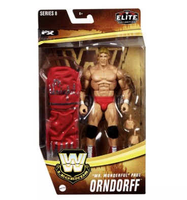 WWE Legends Elite Collection Mr. Wonderful Paul Orndorff Action Figure Target - front package