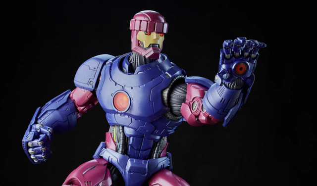 X-Men Legends Marvel's Sentinel figure -main pic