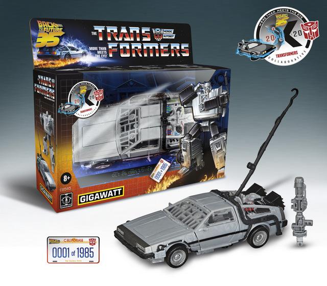 back to the future transformers gigawatt figure - _Box
