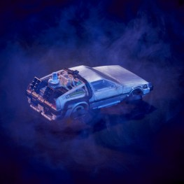back to the future transformers gigawatt figure - car rear