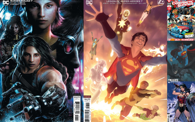 dc comics reviews 7-28-20