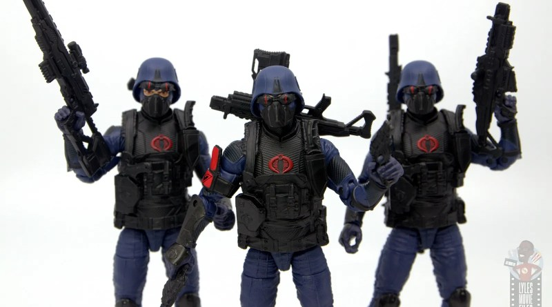 gi joe classified cobra trooper figure review - main pic