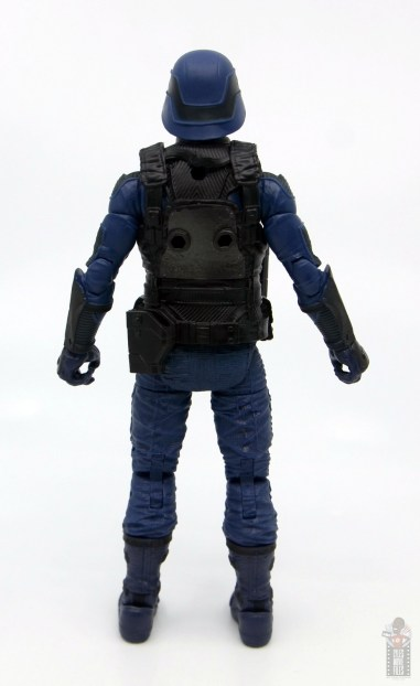 gi joe classified cobra trooper figure review - rear