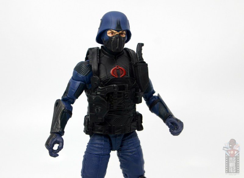 gi joe classified cobra trooper figure review - vest and gauntlet detail
