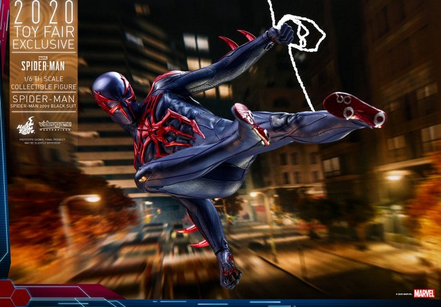 hot toys spider-man 2099 figure - main pic