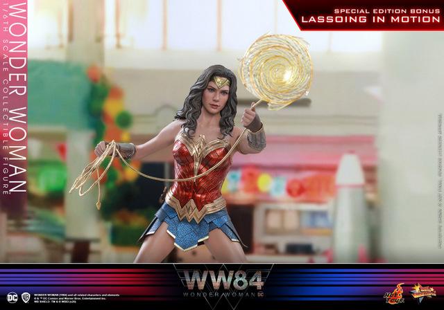 hot toys wonder woman 1984 figure - twirling lasso