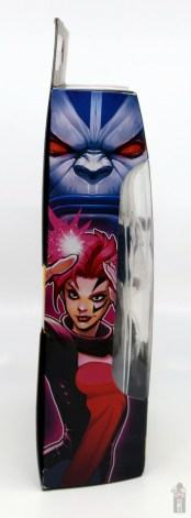 marvel legends age of apocalypse jean grey figure review - package side