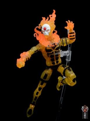 marvel legends age of apocalypse sunfire figure review - aiming