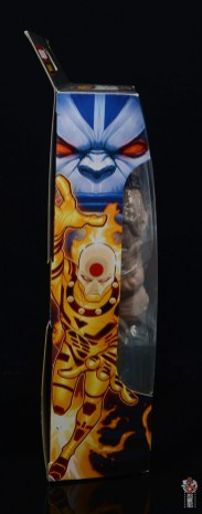marvel legends age of apocalypse sunfire figure review - package side