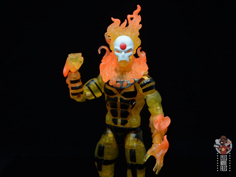 marvel legends age of apocalypse sunfire figure review - wide shot