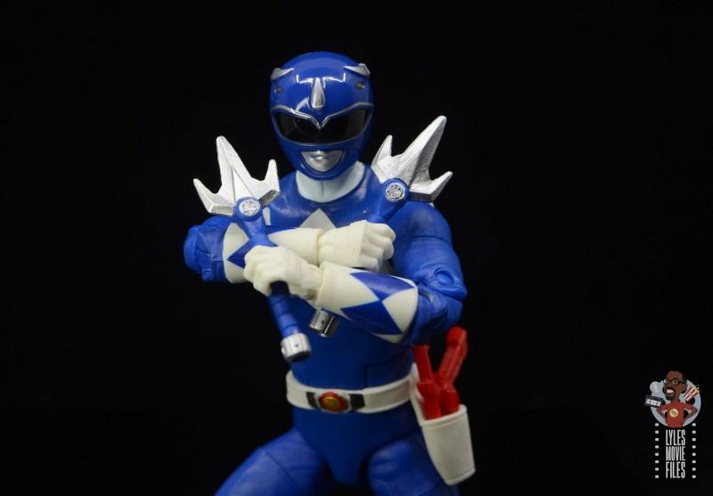 power rangers lightning collection blue ranger figure review - raising staves