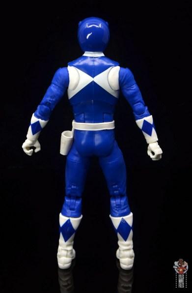 power rangers lightning collection blue ranger figure review - rear