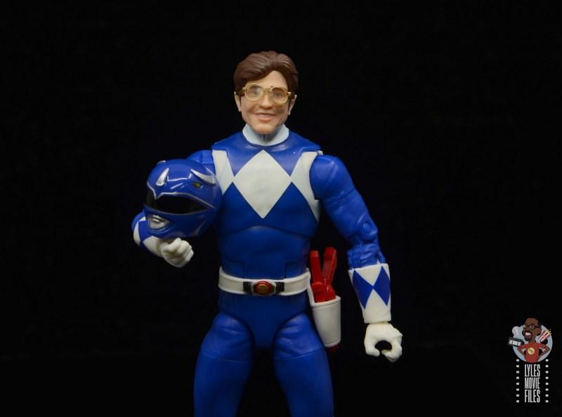 power rangers lightning collection blue ranger figure review - unmasked billy sculpt