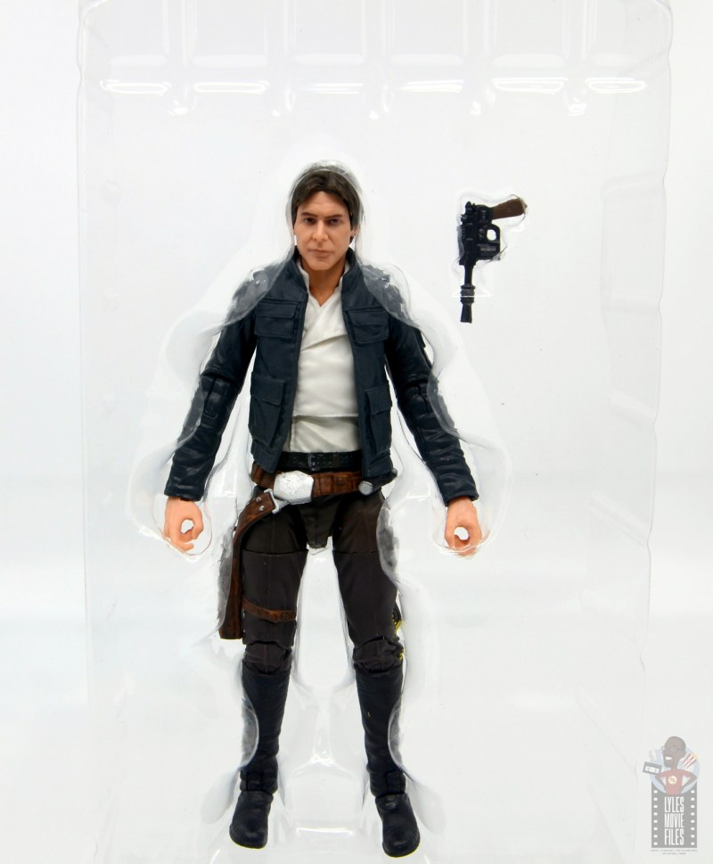 star wars the black series han solo figure review -accessories in tray