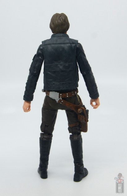 star wars the black series han solo figure review - rear