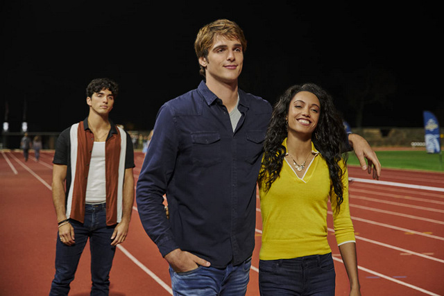 the kissing booth 2 - taylor zakhar perez, jacob elordi and maisie richardson-sellers