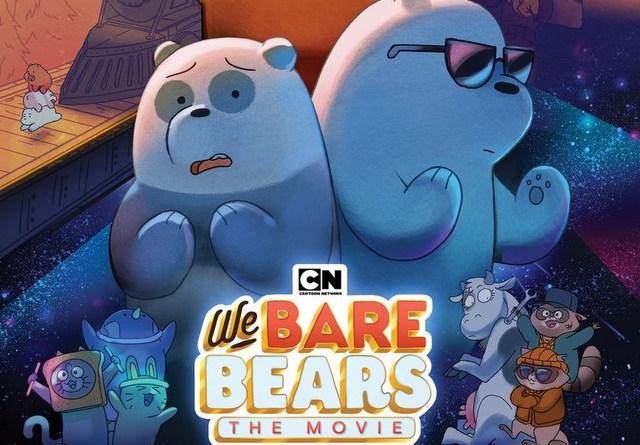 we bare bears main art