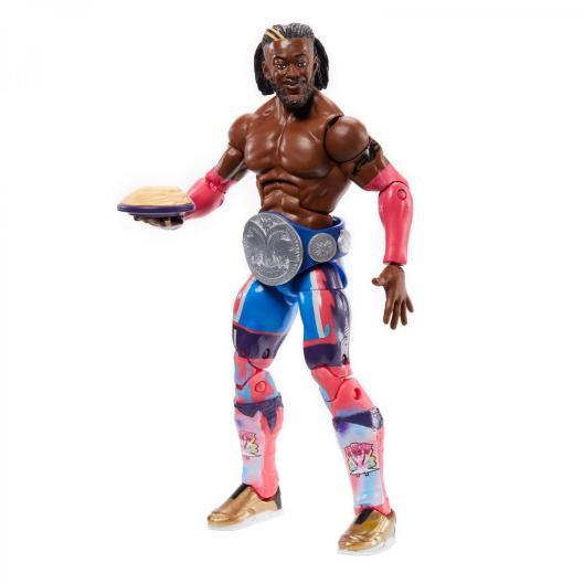 wwe elite 78 - kofi kingston - with pancakes