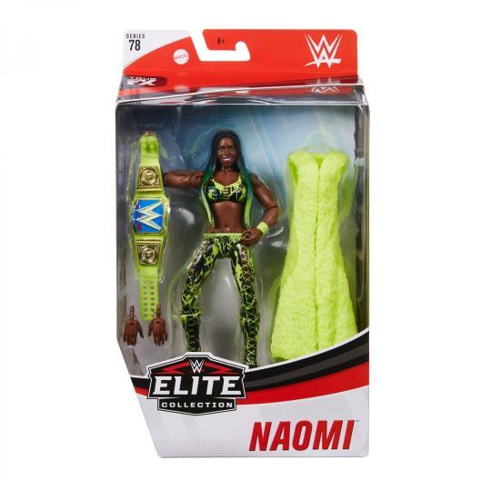 wwe elite 78 - naomi - front package