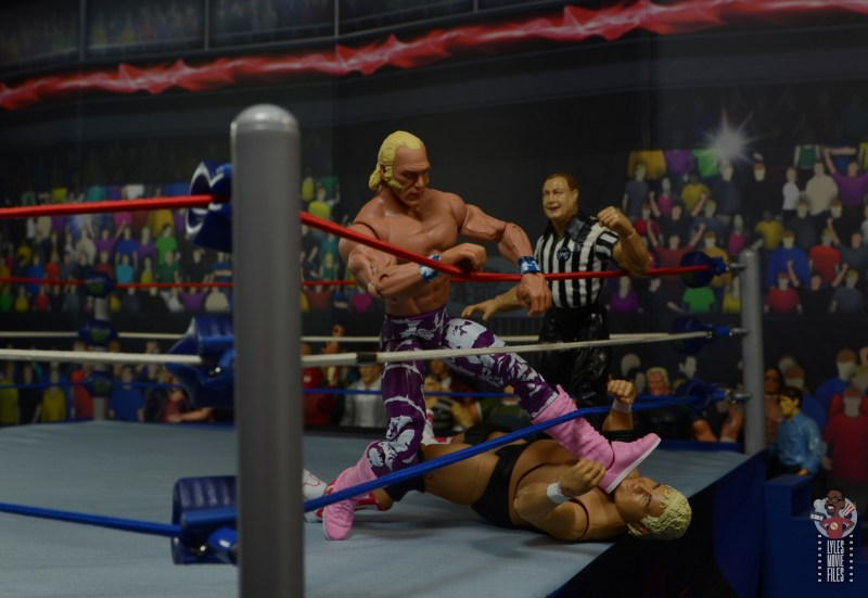 wwe elite 78 superstar billy graham figure review -choking out dusty rhodes