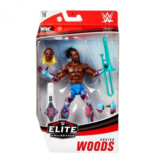 wwe elite 79 xavier woods -front package