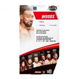 wwe elite 79 xavier woods - rear package