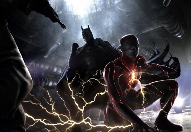 The flash and Batman