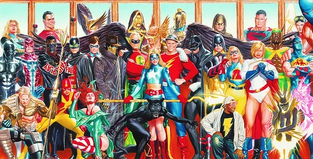 Alex Ross Justice Society of America