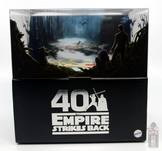 Hot Wheels The Empire Strikes Back X-Wing Dagobah swamp review - package front