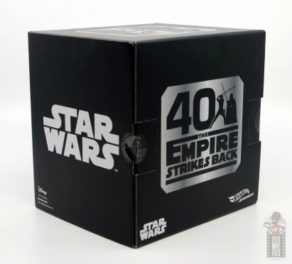 Hot Wheels The Empire Strikes Back X-Wing Dagobah swamp review -package side