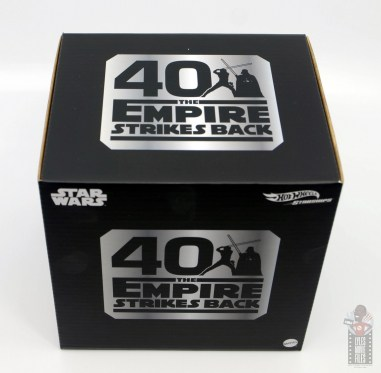 Hot Wheels The Empire Strikes Back X-Wing Dagobah swamp review - package top