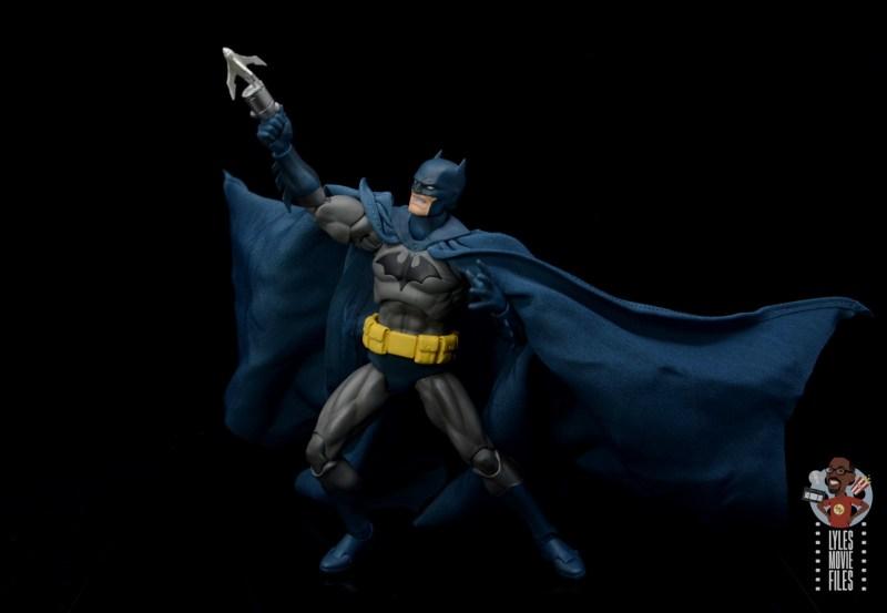 mafex hush batman figure review -aiming grapple gun