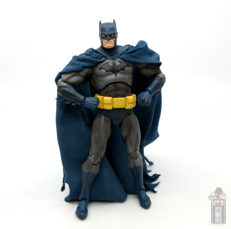 mafex hush batman figure review -front