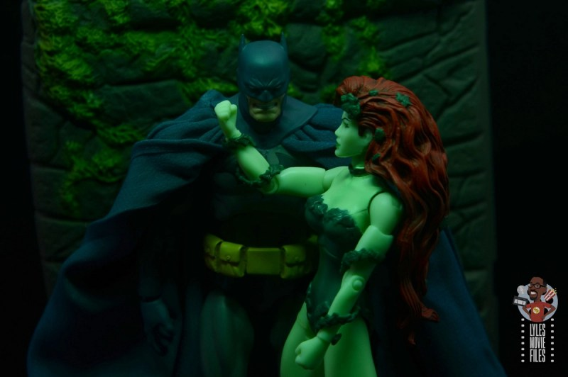 mafex hush batman figure review -under poison ivy's sway