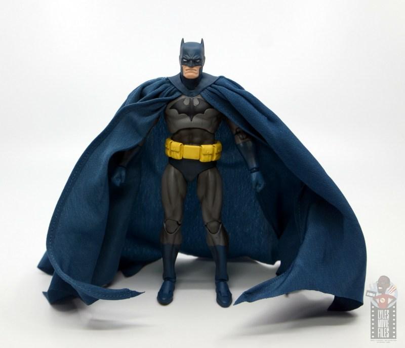 mafex hush batman figure review - wide shot