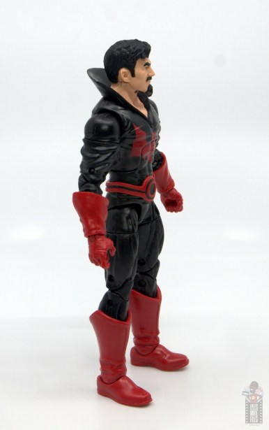 marvel legends black tom cassidy figure review - right side